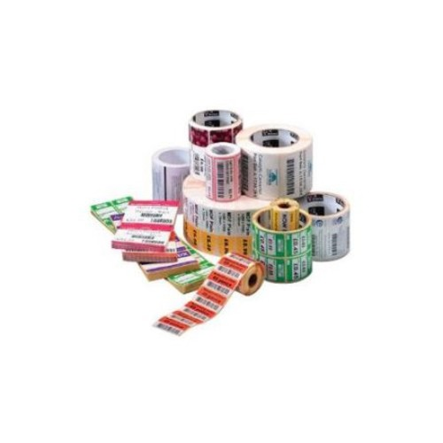 Zebra Label Paper 2 x 1in Direct Thermal Zebra Z-Perform 1000D 0.75 in core - Permanent Adhesive - 2