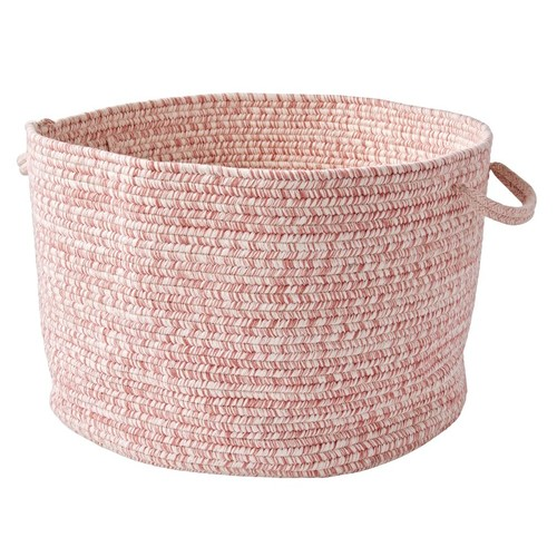 Pink Melange Floor Bin