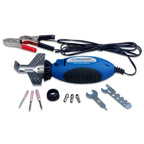 Blue Max Metal 12-volt Portable Electric Chain Saw Chain Sharpener