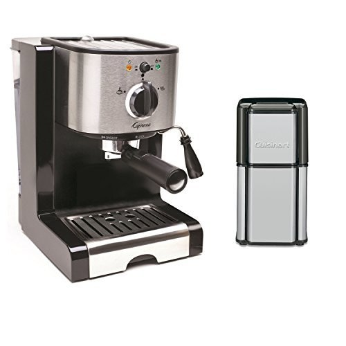 Capresso EC100 Pump Espresso and Cappuccino Machine /Coffee Burr Grinder Outfit