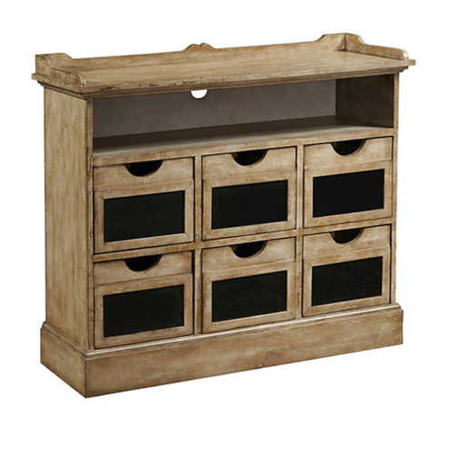 Final Straw Chalkboard Drawer Fronts Accent Chest
