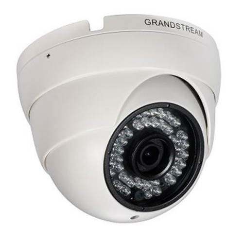 Grandstream Networks Day/Night Fixed Dome HD IP Video Surveillance Camera, 1.2MP GXV3610-HD