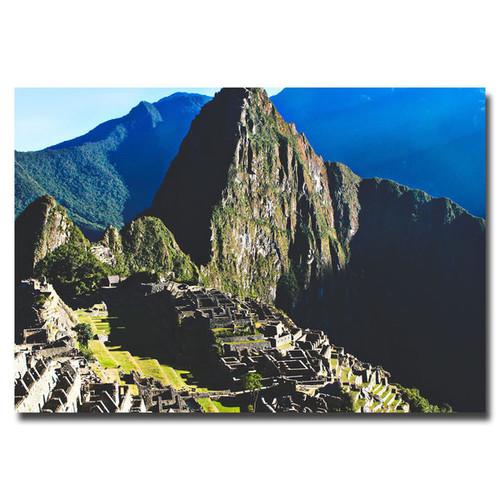 Ariane Moshayedi 'Machu Picchu' Canvas Art - Multi