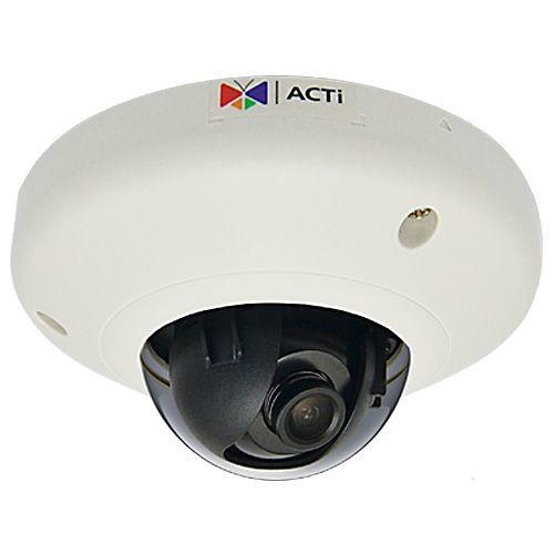 ACTI 2MP Mini Dome Camera - Indoor, 30fps, Fixed Focus, Basic WDR - E95