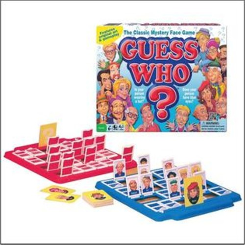Winning Moves Games Winning Moves W11909 Guess Who 1980s Version