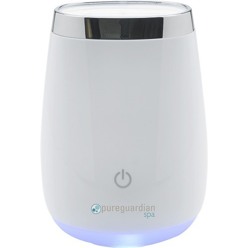 PureGuardian - Aromatherapy Essential Oil Diffuser with Touch Controls - White Crystal
