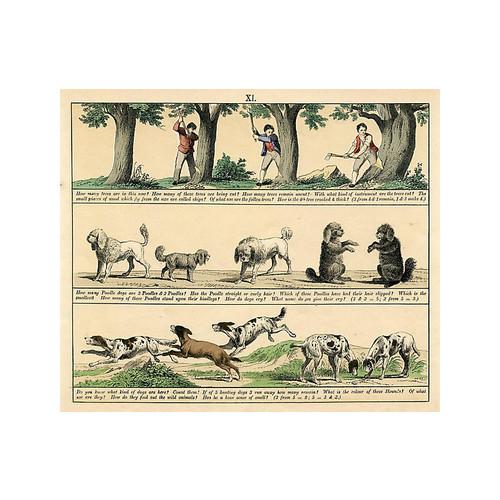 Count the Poodles, c. 1860