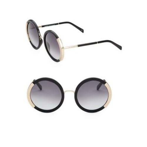 54MM Round Gradient Sunglasses