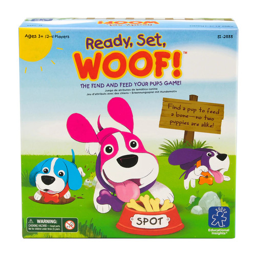Educational Insights Ready, Set, Woof! Game