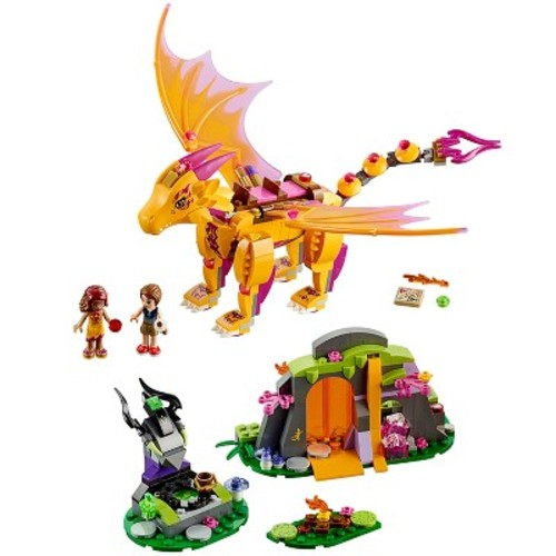 LEGO Elves Fire Dragon's Lava Cave (41175)