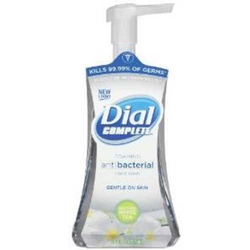Dial Complete Hand Wash, Foaming Antibacterial, Soothing White Tea, 7.5 fl oz (221 ml)