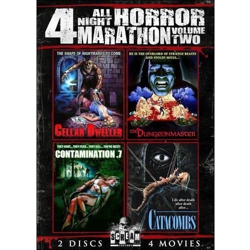 All Night Horror Marathon: 4 Movies, Vol. 2 [DVD]