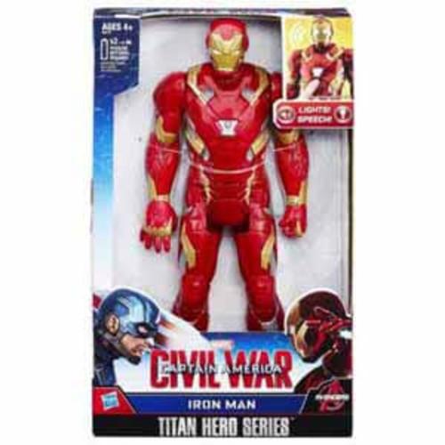 Hasbro Marvel Titan Hero Series Iron Man Electronic Figure