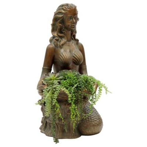 BombayOutdoors Miranda Resin Statue Planter