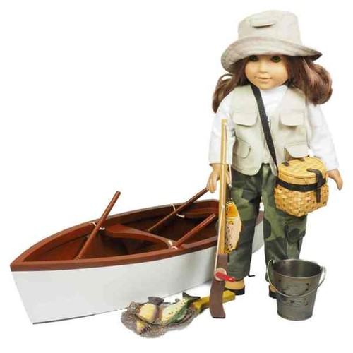 The Queen's Treasures Great Outdoors Fishing Adventure Accessory Set for 18