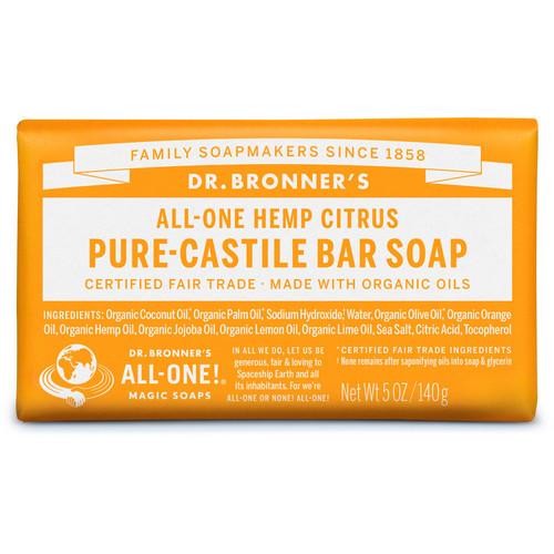 Citrus Pure-Castile Bar Soap