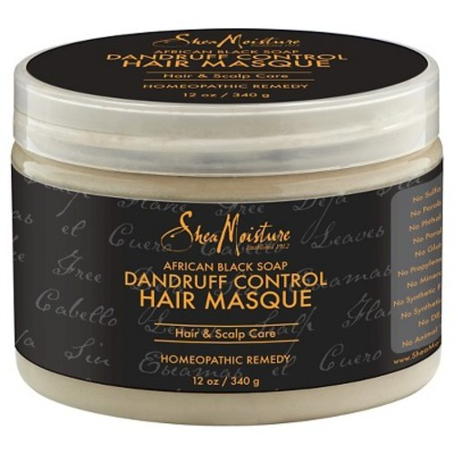 SheaMoisture African Black Soap Dandruff Control Masque - 12 oz