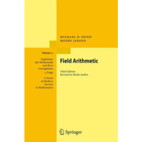 Field Arithmetic / Edition 3