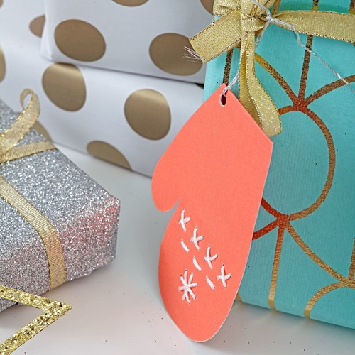 Mitten Gift Tags (Set of 3)