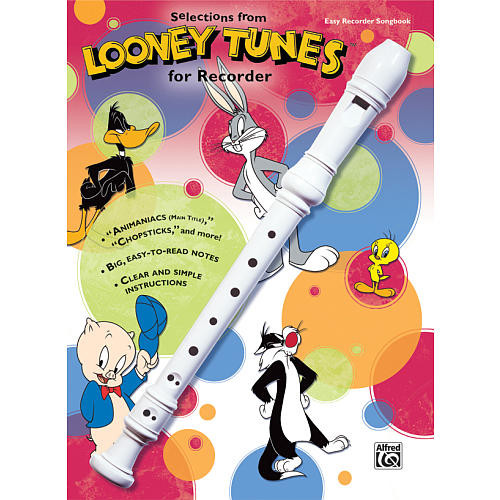 Alfred Music Looney Tunes for Recorder