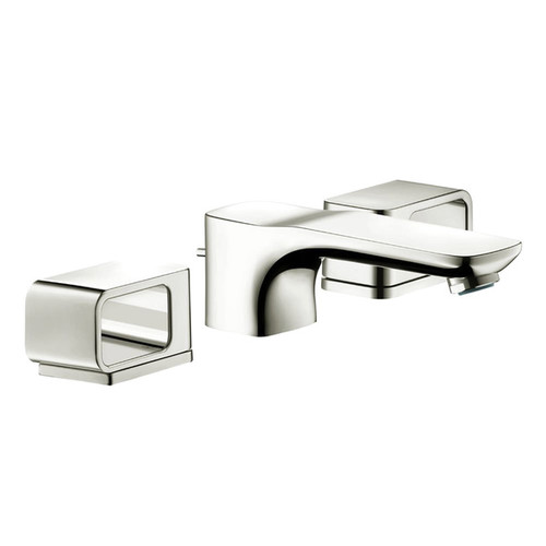 Hansgrohe Axor Urquiola Polished Nickel Widespread Bathroom Faucet - Polished Nickel