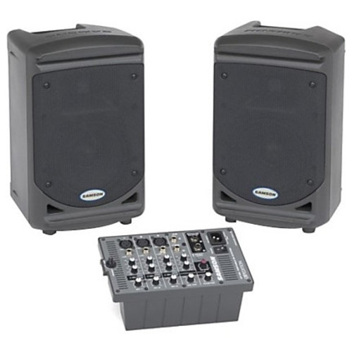 Samson Expedition XP150 2.0 Speaker System - 150 W RMS - Portable - Floor Standing, Stand Mountable