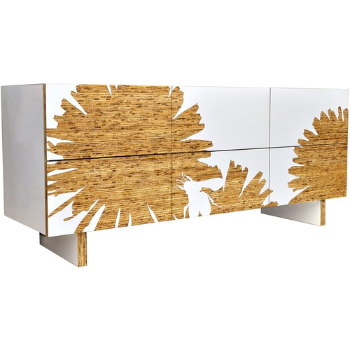 Graphic 6 Drawer Dresser