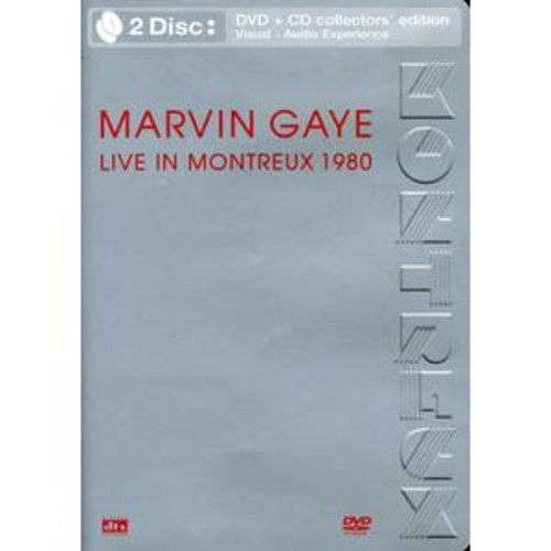 Marvin Gaye: Live in Montreux 1980 [DVD/CD] DD5.1/2/DTS