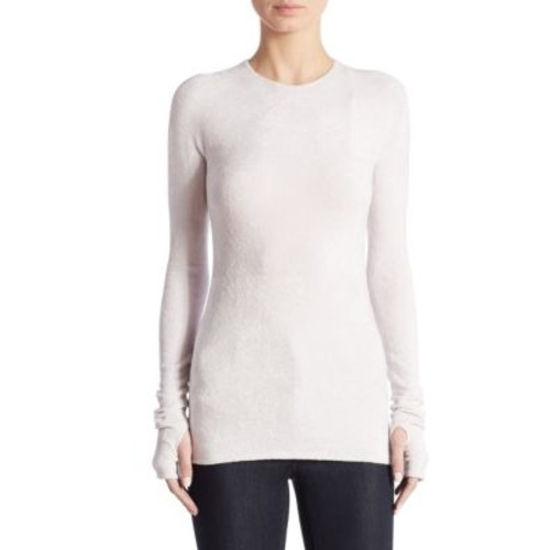 HELMUT LANG Velveteen Sweater