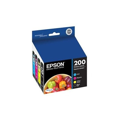 Epson T200120-BCS DURABrite Ultra Black & Color Combo Pack Standard Capacity Cartridge Ink [Black and Color Combo Pack, Standard Packaging]