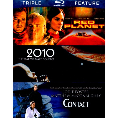 Red Planet/2010/Contact [3 Discs] [Blu-ray]