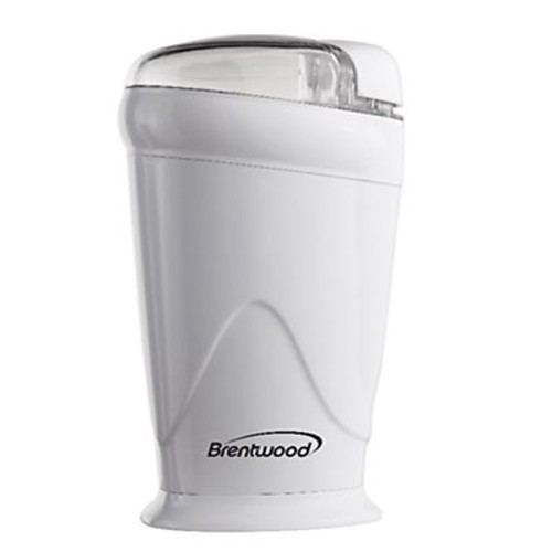 Brentwood Coffee Grinder, White