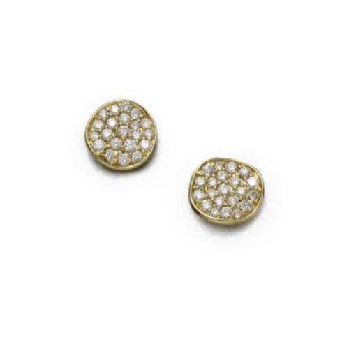 Stardust Diamond & 18K Yellow Gold Small Stud Earrings