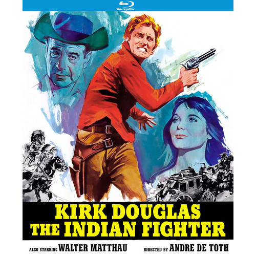 The Indian Fighter [Blu-ray] [1955]