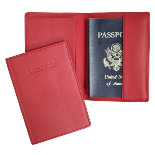 Royce Leather Passport Holder And Travel Document Organizer In Genuine Leather