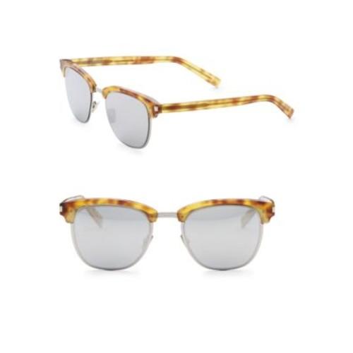 SAINT LAURENT 50Mm Clubmaster Sunglasses
