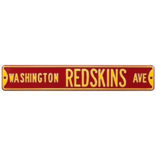 Authentic Street Signs Washington Redskins Avenue Sign