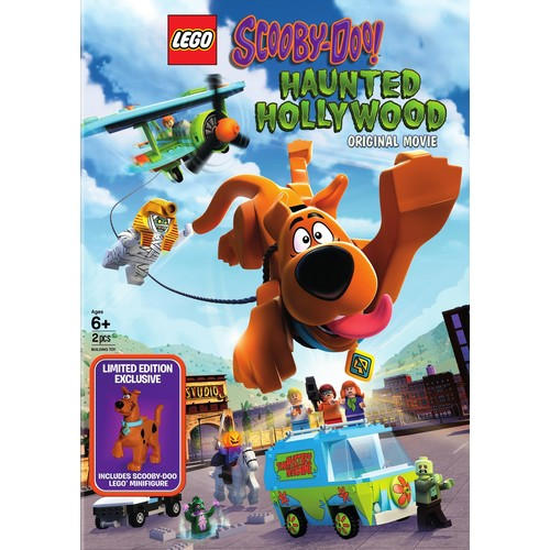 LEGO Scooby-Doo: Haunted Hollywood (DVD with Figure)