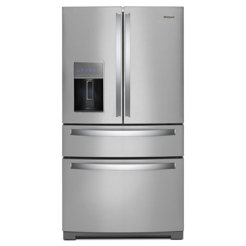Whirlpool 36 in. 26 cu. ft. French Door Refrigerator in Fingerprint Resistant Stainless Steel