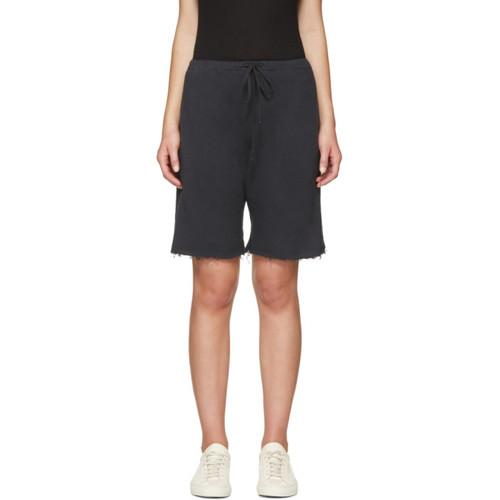 R13 Black Field Shorts