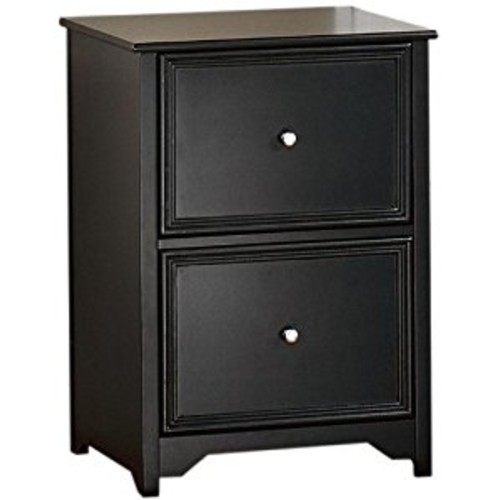 Oxford File Cabinet, 2-DRAWER, BLACK [Black, 2-DRAWER]