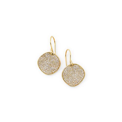 Glamazon Stardust 18-karat gold diamond earrings