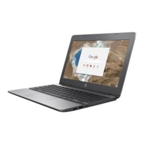 HP Chromebook 11-v020nr - Intel Celeron N3060 Dual-Core Processor, 1.6GHz, Chrome OS, 4GB LPDDR3, 16GB Flash Memory, 11.6