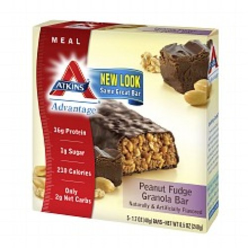 Atkins Advantage Meal Bars Chocolate Peanut Butter Pretzel