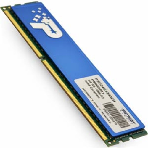 Patriot DDR3 4GB 1333MHz Blue Single Module PSD34G13332H