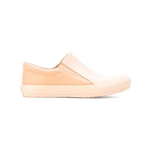 Basic Rubberized slip-on sneakers