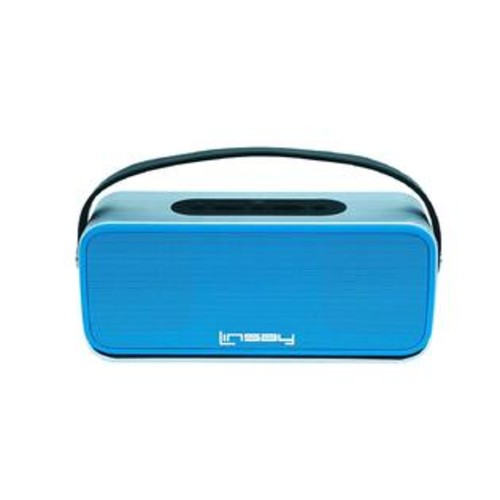 LINSAY NEW SLH_100B High End Bluetooth Speaker, Blue