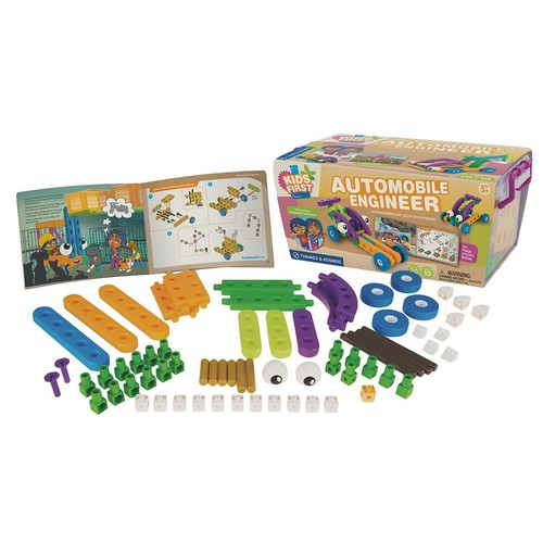Thames and Kosmos Kids First Automobile Engineer Science Experiment Kit