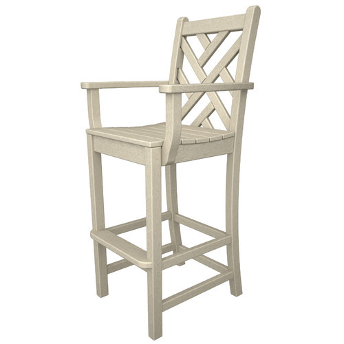 POLYWOOD Chippendale 30'' Bar Stool