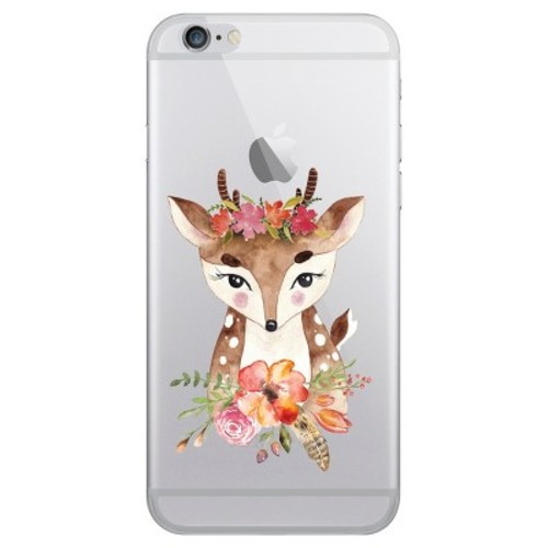 iPhone 6/6S/7/8 Case Plus Hybrid Darling Doe Clear - OTM Essentials